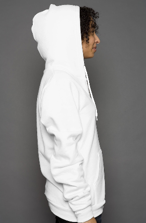 unisex heather zip hoody