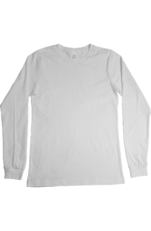 mens tshirts Bella Canvas Long Sleeve T Shirt
