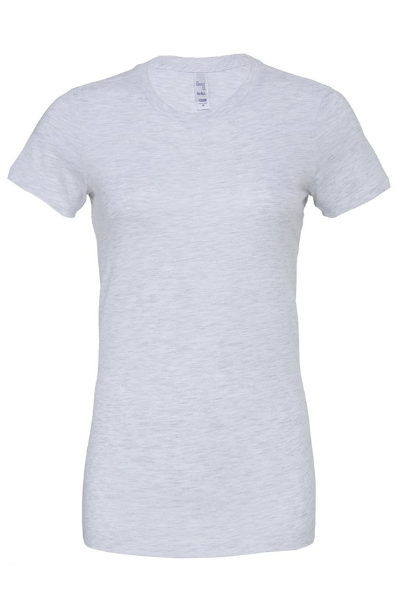 bella canvas ladies heather t shirt