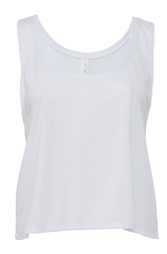 bella canvas flowy boxy tank