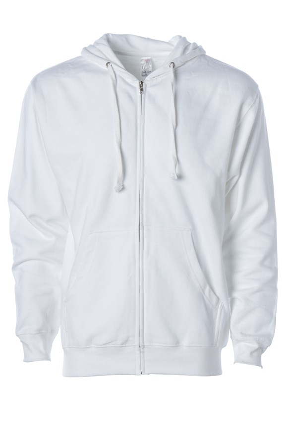 mens hoodies independent zip hoody