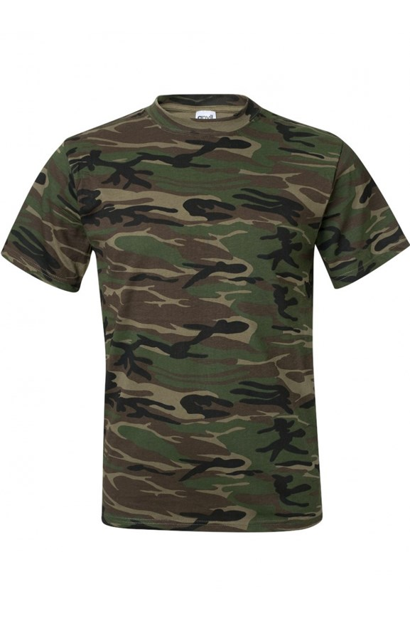 mens tshirts Anvil Camo T Shirt