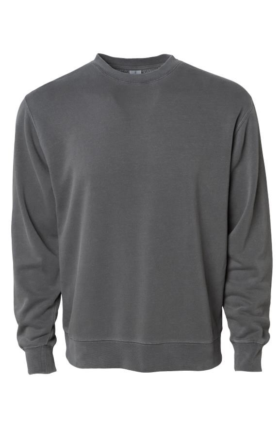 mens sweatshirts Independent Pigment Dyed Crew Neck