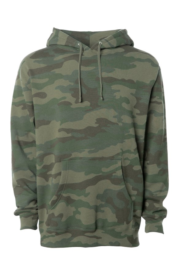 mens hoodies Camo Independent Heavyweight Hoodie