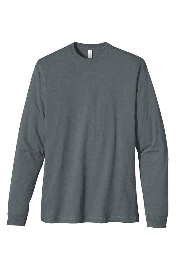 mens tshirts heavyweight long sleeve t shirt