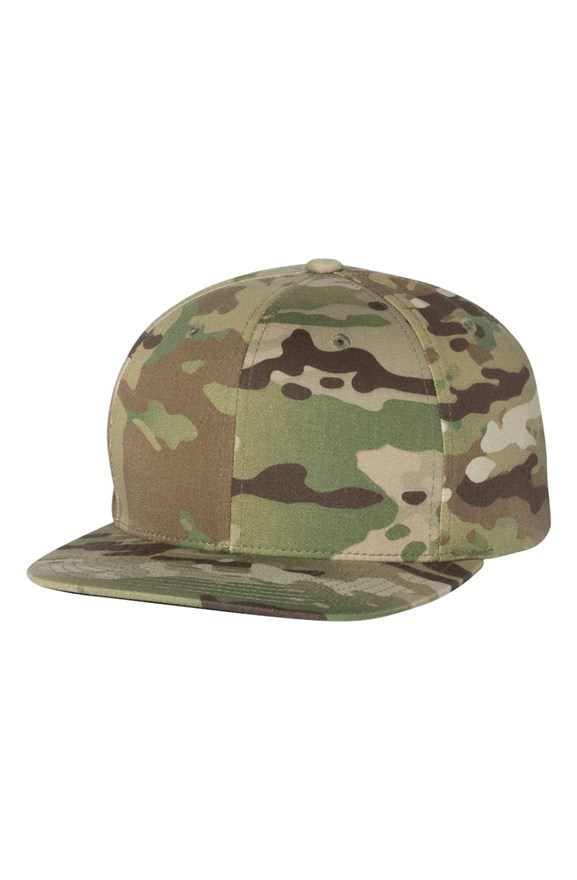 mens hats Multicam Green Premium Snapback