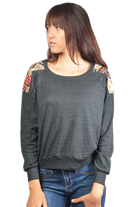 bella canvas ladies ralgan sweater
