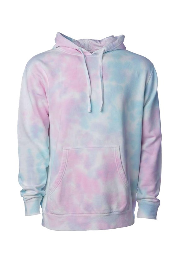 mens hoodies Tie Dye Cotton Candy Hoodie